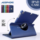 Rotate Smart Leather Case Cover For Apple iPad 2 3 4 5 / Air / Mini / iPad Pro