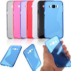 ※S Line ※ Soft Flexible TPU Gel Silicone Cover Case For Samsung Galaxy A8 A800F