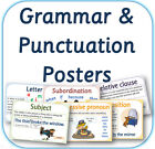 Grammar Vocabulary and Punctuation: Terminology posters (in pdf) KS1 & KS2 on CD