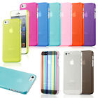 For iPhone 6 6S 6 Plus 5S SE Case Slim Transparent Crystal Clear Hard TPU Cover