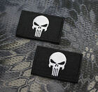 Aufnäher Patch Klett Punisher Tactical Tac Prepper EDC Bushcraft Airsoft SHTF Erkennungsmarken - 37391