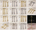 2015 New Multi-Shape Cake Plate Stand Metal Handle Fitting Hardware Rod 2-3 Tier
