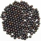 7-7.5mm AAA Grade Loose Fresh Water Round Black Pearl 10, 20 or 50 Pieces