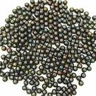 6.5-7mm AAA Grade Loose Fresh Water Round Black Pearl 10,  20 or 50 Pieces