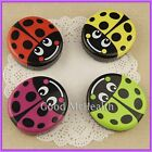 Ladybug Design Contact Lens Case with Soaking Case & Mirror 2015 NEW