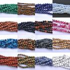 "Wholesale 16"" Strand Natural Gemstone Round Beads 4MM 6MM 8MM 10MM"