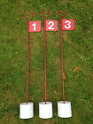 Numbered Metal Professional JL Golf Putting Green Flag and Hole Cup 90cm Choose