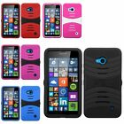 Hybrid Heavy Duty Ultra Rigid Protective Case For Microsoft Nokia Lumia 640
