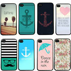 Anchor I Refuse To Sink Love Quote Case Back Cover For iPhone 4 4S 5 5G 5S 5C