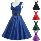 1940s 50's Vintage Retro Style Rockabilly Mother of Bride Pinup Swing Prom Dress