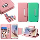 For Samsung Galaxy S6 New Wallet PU Leather Credit Card Flip Stand Cover Case