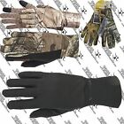 MANZELLA MENS H164M SNAKE TOUCH TIP TOUCHTIP CAMO HUNTING GLOVE FOUR PATTERNS