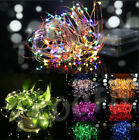 2M/3M/10M Battery Powered LED Starry Fairy String Lights Xmas Valentine Party UK