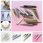 50x Punk Gothic CCB Rivet Spike Beads Findings Jewelry Making Leather Craft DIY
