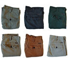Mens Slim Fit Wrangler Combat Cargo Jeans Straight Leg 7 Pockets W15A
