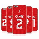 LIVERPOOL FC LFC SHIRT NEW 2015/16 SOFT GEL CASE FOR APPLE iPHONE PHONES