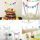 Baby Bunting Banner Kit Topper Tools Cup Cake Picks Birthday Party Flags Decor