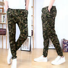 Stylish Mens Army Military Camouflage Cargo Pants Combat Skinny Trousers XS S~L