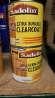 Sadolin Extra Durable Clearcoat Gloss Satin Clear Varnish for Exterior Wood 1ltr