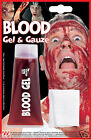 Vampire Zombie Blood Gel Tube with Gauze Halloween Fancy Dress Make up Accessory