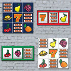 Fruit Machine Art Canvas Print - Slot Machine vegas gambling amusements vintage