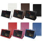 "Flip Folio Leather Stand Case Cover for 5.0"" ASUS Padfone Infinity A80 Phone"