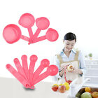 New 10Pcs Plastic Measuring Spoons Cups Measuring Sets Tools For Baking Coffee