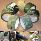 HOT! Military Hunting 10m Multi-functional Camouflage Adhesive Cloth Tape