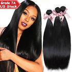300g THICK 3 Bundles 7A 100% Unprocessed Virgin Human Hair EP Brazilian Peruvian