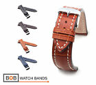 BOB Marino Alligator Watch Band for Breitling, 20, 22 & 24 mm, 4 colors, new!