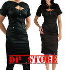 LIVING DEAD SOULS GOTHIC STEAMPUNK ARMY PUNK MILITARY EMO SEXY BLACK DRESS DR915