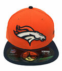 Mens Denver Broncos New Era On-Field Player Sideline 59FIFTY Fitted Hat