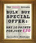 DICTIONARY PRINTS, Wall Decor Art, BULK BUY 10 for £30, or 20 for £45 SALE!