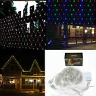 120 LED 1.5m*1.5m Net Mesh Fairy String Light Xmas Curtain Lights For Party Wed