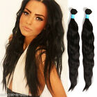 """Peruvian Human Hair Natural Weave Extension Unprocessed one Bundle 10""""-30"""" 100g"""