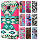 Samsung Galaxy Prevail LTE IMPACT TUFF HYBRID Case Skin Covers +Screen Protector