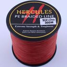 Hercules 100M-1000M Red PE Spectra Dyneema 6LB-100LB Test PRO Braid Fishing Line
