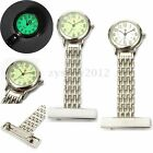 Fluorescent Metal Nurse Brooch Tunic Fob Quartz Watch Nursing Pendant Pocket New