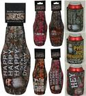 Duck Dynasty Camo Neoprene Can and Bottle Coolers - Gift Stocking Stuffer