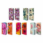 HEAD CASE DESIGNS FLOWERS LEATHER BOOK WALLET CASE COVER FOR HTC PHONES 1