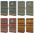 HEAD CASE DESIGNS AMERINDIAN PATTERNS LEATHER BOOK CASE FOR SAMSUNG PHONES 2