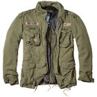 BRANDIT CLASSIC M65 MENS FIELD JACKET WARM LINING HUNTING PARKA ARMY COAT OLIVE