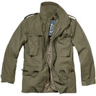 BRANDIT CLASSIC M65 MENS ARMY FIELD JACKET WARM TRAVEL PARKA MILITARY COAT OLIVE
