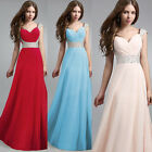 Fashion New Long Chiffon Evening Formal Party Ball Gown Prom Bridesmaid Dress