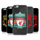 OFFICIAL LIVERPOOL FC LFC CREST 1 SOFT GEL CASE FOR APPLE iPHONE PHONES