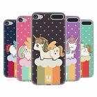 HEAD CASE UNICORN CHUBBY SOFT GEL CASE FOR APPLE iPOD TOUCH 6G 6TH GEN