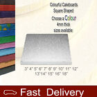 "Christmas 8"" 20cm Cakeboards 4mm Thick SQUARE Cake Boards"