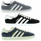 Adidas Gazelle Originals Fashion Trainers Classic Navy Mens Shoes Size UK 7-7.5