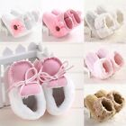 Baby Warm Shoes Toddler Infant Kid Flower&Pure Boot Soft Comfortable Newborn #DB