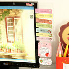 Computer Monitor Screen Post-it Board Holder: affix Memo paper Sticky Note